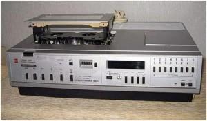 видео магнитофон электроника