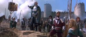 Арнольфини отдаёт приказ штурмовать замок