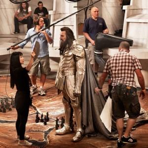 Битва титанов - Лиам Нисон в роли Зевса