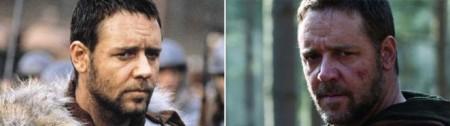 Хмурые брови от Кроу | Сравнение Гладиатор vs Робин Гуд