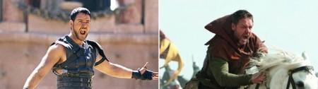 Боевой крик от Кроу | Сравнение Гладиатор vs Робин Гуд