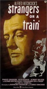 """постер фильма """"Незнакомцы в поезде"""""""