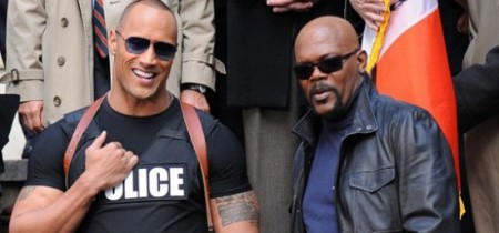 Две полицейские звезды  Дэнсон (Дуэйн Джонсон) Хайсмит (Сэмюэл Л. Джексон)