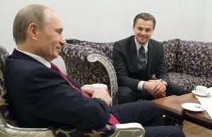 Леонардо Ди Каприо и В.В. Путин
