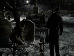 у могилы брата