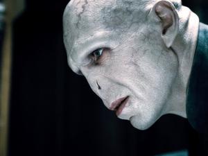 Рейф Файнс в роли лорда Волдеморта