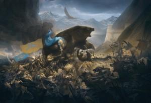 битва пяти армий