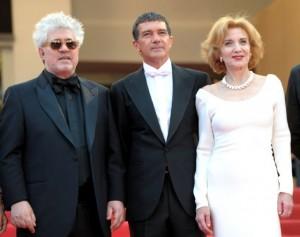 Педро Альмодовар, Антонио Бандерес и Мариза Паредес