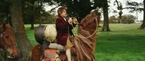 бильбо ра своей лошадке