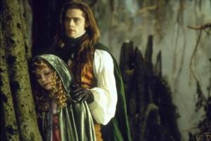 брэд питт и кирстен данст в Интервью с вампиром