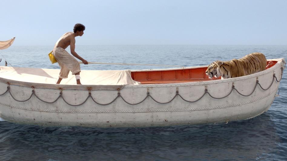 фильм как мальчик и тигр оказались в одной лодке