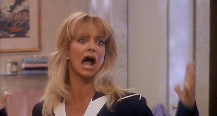 Голди Хоун в ярости