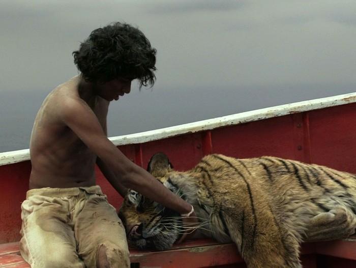 кино мальчик с тигром в одной лодке
