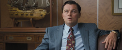 ДиКаприо в трейлере к фильму Волк с Уолл Стрит