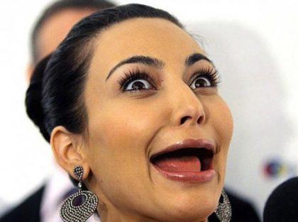Кимберли Кардашьян без зубов