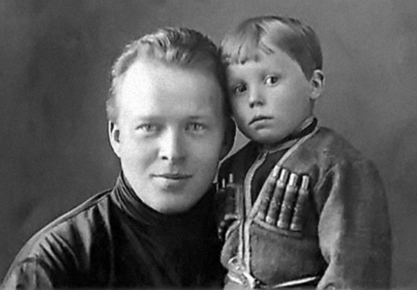 аркадий петрович гайдар с сыном тимуром