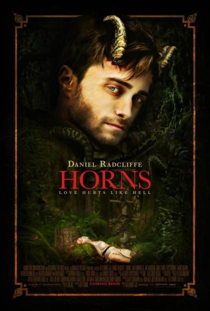 Постер к фильму Рога с Дэниелом Рэдклиффом