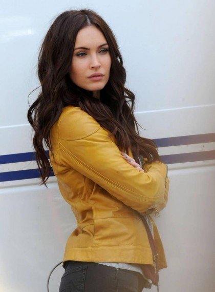 MEGAN FOX am Set von 'Teenage Mutant Ninja Turtles'