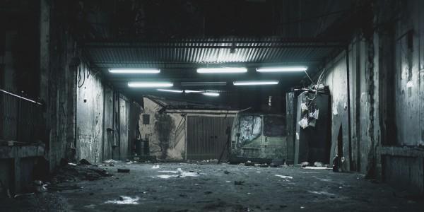 Лайв-экшн фанмейд сцена из Призрака в Доспехах 17