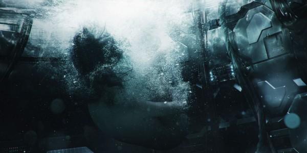 Лайв-экшн фанмейд сцена из Призрака в Доспехах 21