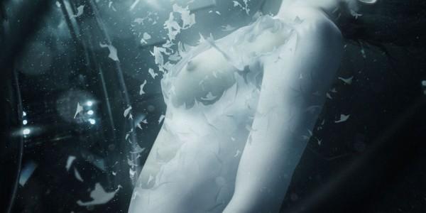 Лайв-экшн фанмейд сцена из Призрака в Доспехах 23
