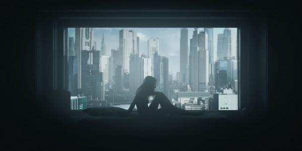 Лайв-экшн фанмейд сцена из Призрака в Доспехах 37