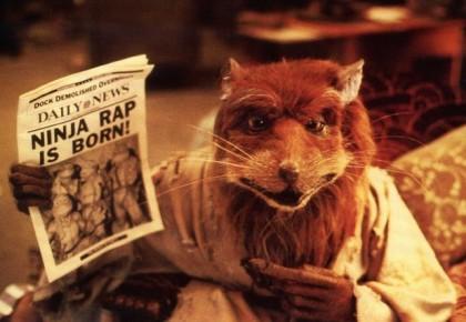 Сплинтер - кадр из фильма Черепашки-ниндзя 1981 года