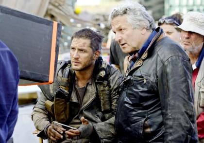 Том Харди - на съёмочной площадке