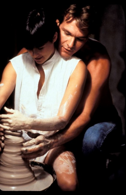 GHOST  GHOST   Year: 1990 - usa  Patrick Swayze Demi Moore USA 1990   Director: Jerry Zucker