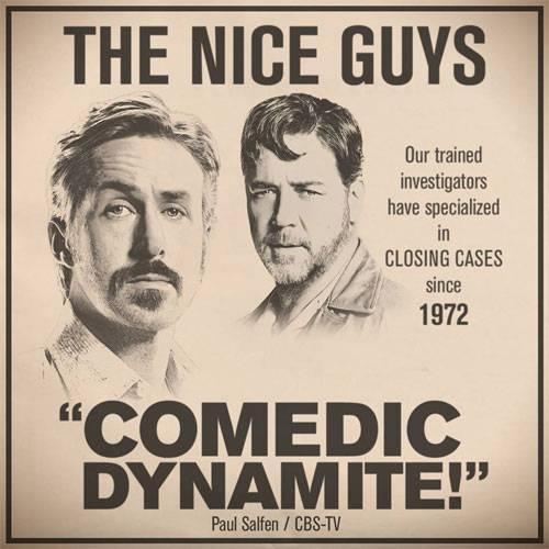 Визитка - детективное агенство Славные парни