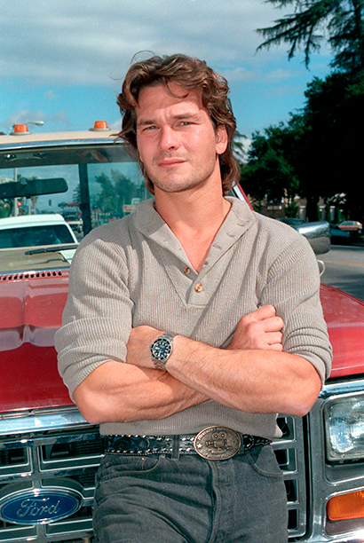 Actor Patrick Swayze is shown in Los Angeles in this 1985 photo. (AP Photo/Wally Fong)