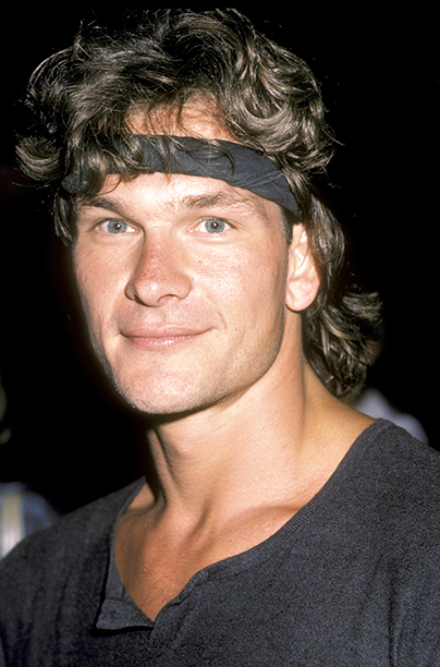 """Actor Patrick Swayze attends the premiere of """"Grandview, U.S.A."""" on July 9, 1984 at the Writer's Guild Theater in Beverly Hills, California."""