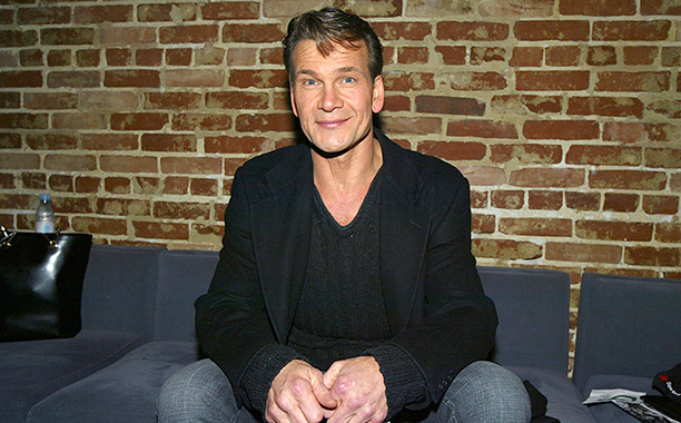 """LOS ANGELES - JANUARY 8: Actor Patrick Swayze attends the after-party for """"Chicago - The Musical"""" on January 8, 2004 at Cinespace, in Los Angeles, California. (Photo by Kevin Winter/Getty Images)"""