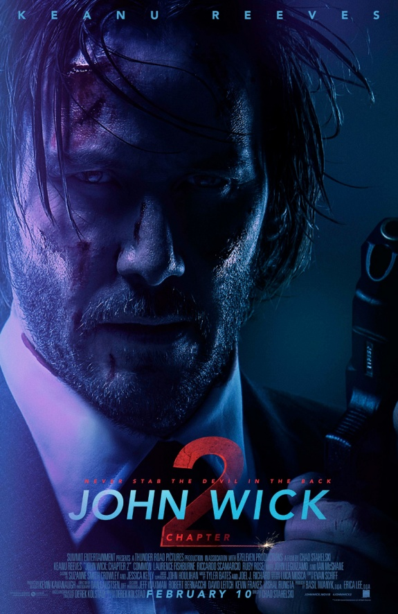 Джон Уик 2 - постер